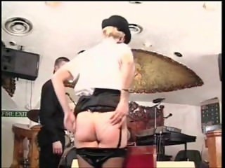 Police Lady Gets Spanked