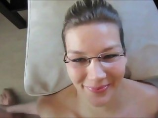 Amateur Babe facial