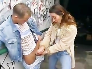 Women Jerking Guys Off In Public (Italian) - FULL MOVIE