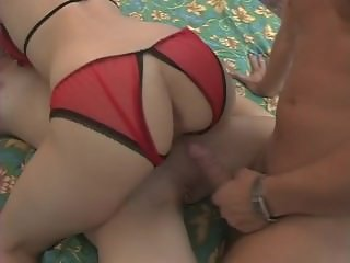 One of my best crotchless panties scenes ever
