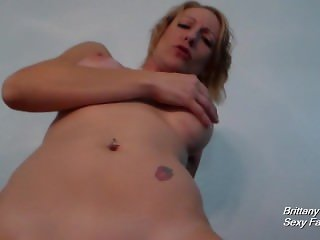 Brittany Lynn POV Riding and Reverse Cowgirl Until Thick Cumshot on Ass