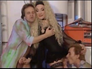 Alain L'Yle Rare Transsexual Porn Scene