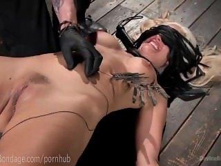 Hot MILF Holly Heart Dungeon Bondage