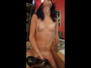 Hitachi Torture With Daddy! Watch Lucy Get SOAKING Wet!