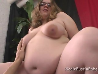 Pregnant BBW Sweetie Mitchell Fucking Cum on Belly