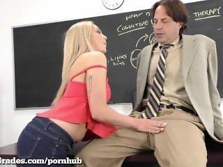 Sexy Schoolgirl Fucks to Graduate!