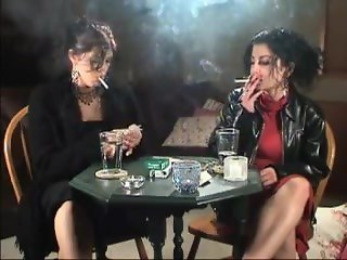 Various Lady Madonna smoking girls