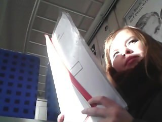 Train sitting next to redhead cuti. Fernanda from dates25.com