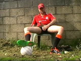 Outdoor Soccer Jerk-Off