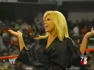 Terri Runnels Vs Molly Holly Bikini Contest