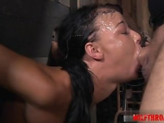 Hot girl first cum swallow