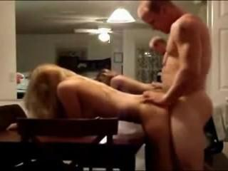 Footage Hot Couple Fucking on Table - hotcam777.com