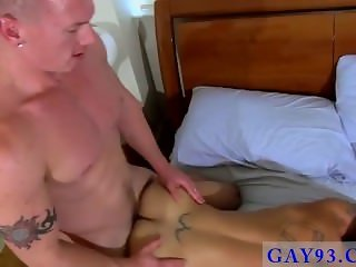 Gay dad shits in boys mouth With his cum fucked out of him, Tate gets a