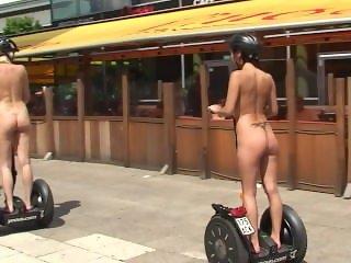 Agnes B[Agnes Mirai] - Public Nude with Linda