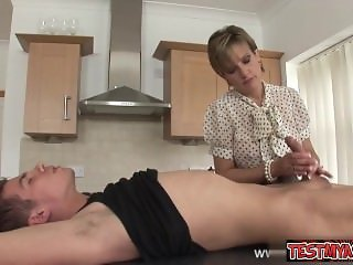 Horny wife extreme deep throat
