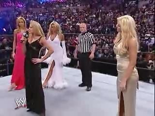 Torrie Wilson & Sable vs Stacy Keibler & Jackie Gayda