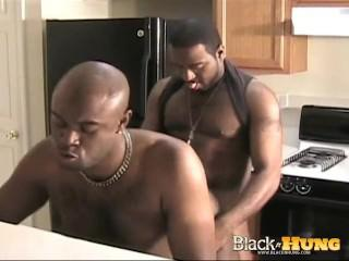 Black Cock Fuck Session at Kitchen