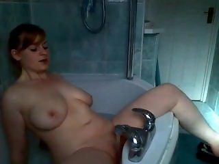Chubby redhead with big tits. Ashleigh from 1fuckdate.com