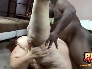 SSBBW Sweetcheeks fucked by black man