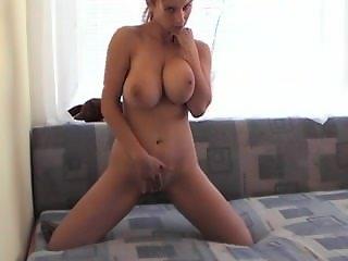 Hot girl big tits masturbating. Twanda from 1fuckdate.com
