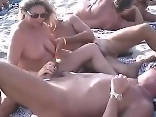 Maddie from 1fuckdate.com - Blowjobs and sex on a nudist beach