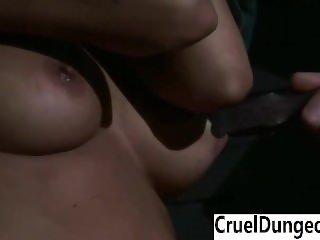 Brutal Dungeon - Brunette Janessa