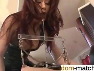 Affair from DOM-MATCH.COM - Nipple Torture