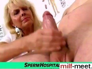 Date her on MILF-MEET.COM - Wicked lady doctor Koko cfnm hospital ha