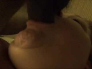 Busty BBW Amateur Wife Face-Fucked by BBC