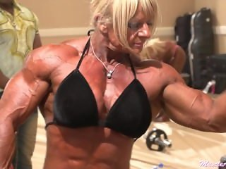 Maryse Manyos fbb female muscle