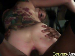 Punk slut gets anal fuck