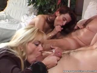 Amazing bitches sucking and riding cocks