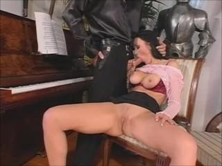Busty Piano teacher fucking her student