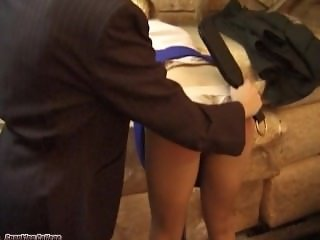 spanking college