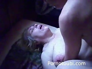 Finnish Sauna Fuck - Ugly Milf and husband fucking - Suomiporno