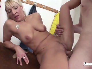 milf From SEXDATEMILF.COM Teacher seduce Young Boy to Fuck after Sport Less