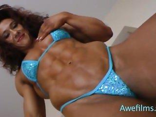 Alina Popa sensual posing