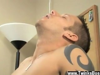 Hairless tiny dicked twink gay porn Poor Tristan Jaxx is stuck helping,