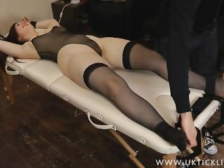 Jess Tickled in Stockings