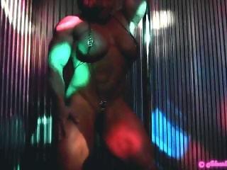 Sexy Aleesha Young Fbb dancing
