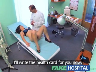 FakeHospital Beautiful Vietnamese patient gives doctor a sexual reward