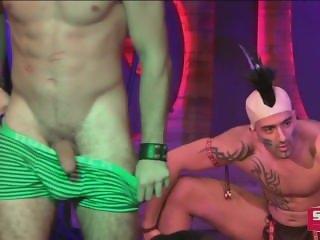 StockBar - Male Strippers - Halloween Party 2015