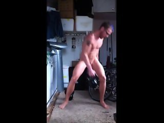 Hot Nudist Workout