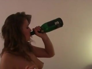 Excessive drinking, smoking and ass fucking her man