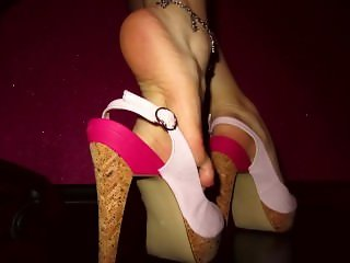 Private Party - Clear Platform High Heels - LittleMiss25