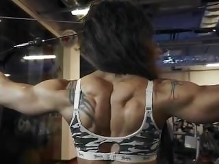Fit Andrea Huge Muscle
