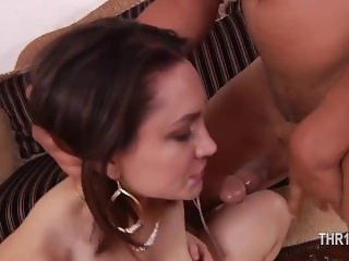 glamorous deepthroat with nasty hooker sucking