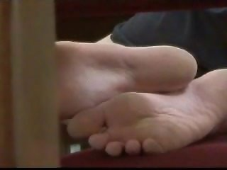 Candid Asian Library Soles