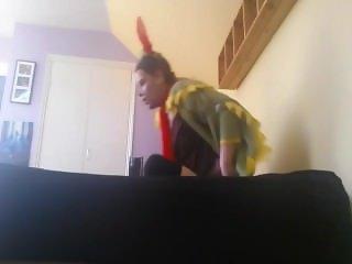 Nerdy Neighbor Girl Getting Fucked