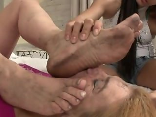 Dirty Feet Licking